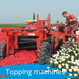 Topping machines