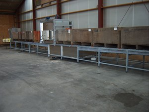 Disinfection line
